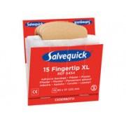 Cederroth Plåsterrefill Salvequick 6454 fingertopp XL 6x15st/fp