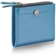 Fastrack Women Casual Blue Genuine Leather Wallet(1 Card Slot)