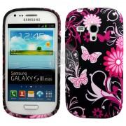 Samsung I8190 Galaxy S III mini Flora V6 Калъф + Протектор