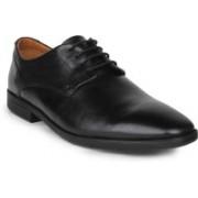 Clarks Glenrise Walk Black Leather lace up For Men