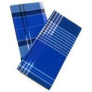 Rajkumar Pure Cotton Premium Lungi (Pack of 2)