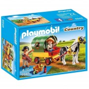 Picnic Con Pony Y Carruaje Playmobil Linea Country - 6948