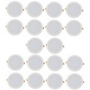 Alpha 12 Watt round Ceiling LED Panel Light (Pack of 10 Lights)