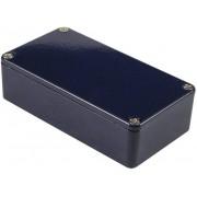 Carcasa de aluminiu IP54, 1590BCB, albastru, 111.5 x 59.5 x 31 mm