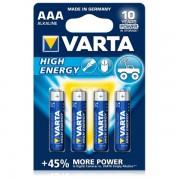 Baterie Varta High Energy AAA 1.5V 4buc/set