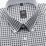 Bărbați cămașă clasică Willsoor Londra 839