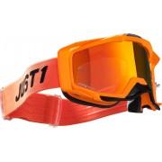 Just1 Iris Pulsar Motocross Goggles Black Orange One Size