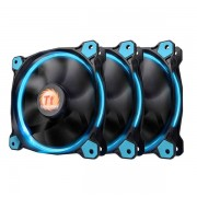Thermaltake Riing 12 High SP LED Fan 3 Pack Blue