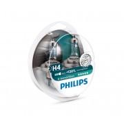 SET 2x Bec auto Philips X-TREMEVISION 12342XV+S2 H4 P43t-38/60W/55W/12V