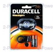 Duracell 5 LED Framlykta Cykel