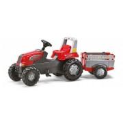 Rolly Toys Rolly Junior Traktor med Farm Trailer - Rolly Toys 800261