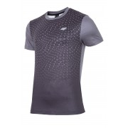 4F Dry Control Dynamic Black funkcionális férfi póló