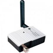 TP-LINK Wireless Print Server, single USB2.0 port, Atheros wireless, 2.4GHz, 802.11g/b, with detachable antenna - TL-WPS510U