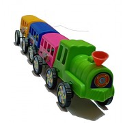Fashion HUB Brand Plastic Train Toy | Playing Trains for Kids | Gift for Kids Boy, Multicolour