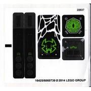 stk70130 Autocolant LEGO Chima 70130