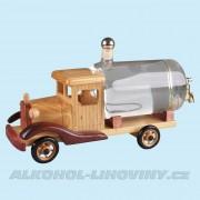 Dřevěné auto s cisternou 0,5L