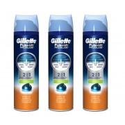 Gillette Scheergel 3-pack Fusion ProGlide Verkoelend