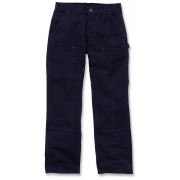 Carhartt Washed Duck Double-Front Work Dungaree Hose Blau 40