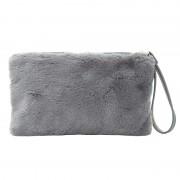 Bag Small Fluffy Grey - Tassen
