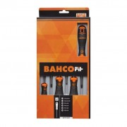 BAHCO Bahco Fit Skruvmejsel set Slotted/PH/PZ 6 st B219.026