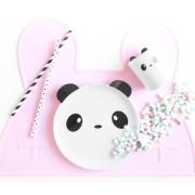 Panda Mugg/Tallrik Panda (melamin) (Tallrik)