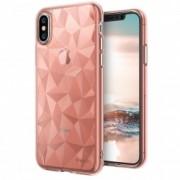 Husa iPhone X, iPhone 10 Ringke Air Prism - Rose Gold