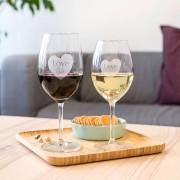 Personalised Engraved Wine Glasses
