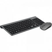 Combo Teclado + Mouse sem Fio K-W510SBK Preto C3TECH
