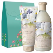 Bottega Verde - Set cadou - Gel de dus si crema de corp cu iris alb