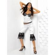 Anais Natalia set-Anais ,barva bilá ,M ,luxusní set bílo/černá XL