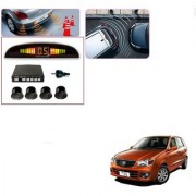 Auto Addict Car Black Reverse Parking Sensor With LED Display For Maruti Suzuki Alto K10