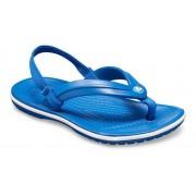 Crocs Crocband™ Strap TeenSlippers Kinder Blue Jean 25