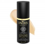 INIKA Certified Organic Liquid Mineral Foundation (Various Colours) - Beige