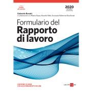 IlSole24Ore Formulario del rapporto di lavoro 2020 con CD