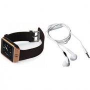 Zemini DZ09 Smart Watch and S6 Bluetooth Headsetfor LG OPTIMUS L5 II DUAL(DZ09 Smart Watch With 4G Sim Card Memory Card  S6 Bluetooth Headset)