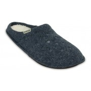Crocs Classic Lined Slipper Pantoffels Unisex Nautical Navy / Oatmeal 39