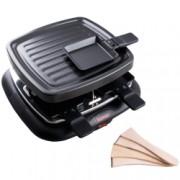 Gratar electric cu placa grill Bimar 4 spatule si 4 mini-tigai 700 W Negru
