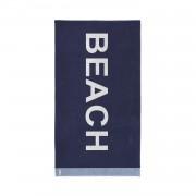 Seahorse strandlaken katoen Beach marine 100 x 180 cm