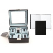 Set Cutie 6 Ceasuri Bond Glass by Friedrich si Note Pad Black Hugo Boss