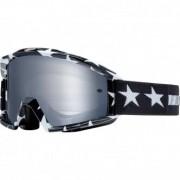 FOX Óculos FOX Main Stripe Black - White / Chrome Mirrored