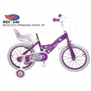 Bicicleta 16 Sofia the First Toimsa