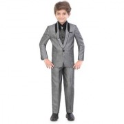 Jeet Grey Coat Suit for Boys