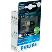 Bec Led C5W Festoon 43mm Philips 4000k