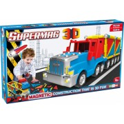 Supermag 3D - Jucarie Cu Magnet Camion Supermag