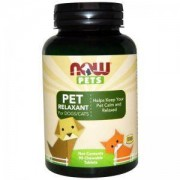 Релаксант за кучета и котки - PET Relaxant cats & dogs - 90 таблетки - NOW FOODS, NF4310