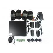 SECURIA 4 kanálový bezpečnostný kamerový systém HDMI