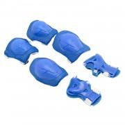 Titan Protectii Genunchi,Coate,Palme Copii pentru Biciclete,Role,Albastre