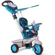 Детска 4 в 1 триколка - Dream, smarTrike, синьо и черено, 011029
