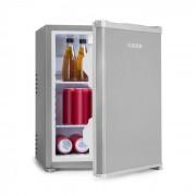 Klarstein Nagano S mini-kylskåp 38l 0dB 0-8°C tystgående 54,5cm silver