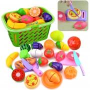 23Pcs Juguete De Corte 360DSC 8002 - Multicolor